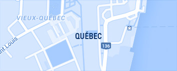 Carte de Quebec
